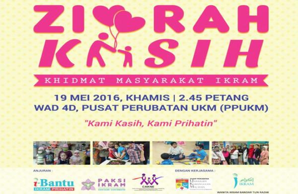 Ziarah Kasih di Wad D, PPUKM pada 19 Mei 2016